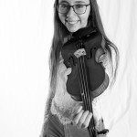 © 2019 Pablo Fernandez. La Chaux-de-Fonds, mai  2019. Elève de violon  du collège musical.