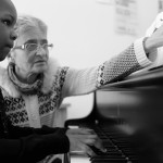 © 2019 Pablo Fernandez. La Chaux-de-Fonds, janvier 2019. Cours de piano au collège musical.