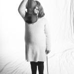 © 2019 Pablo Fernandez. La Chaux-de-Fonds, janvier 2019. Les élèves de violon du collège musical.