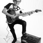 © 2019 Pablo Fernandez. La Chaux-de-Fonds, avril 2019. Elève de guitare  du collège musical.